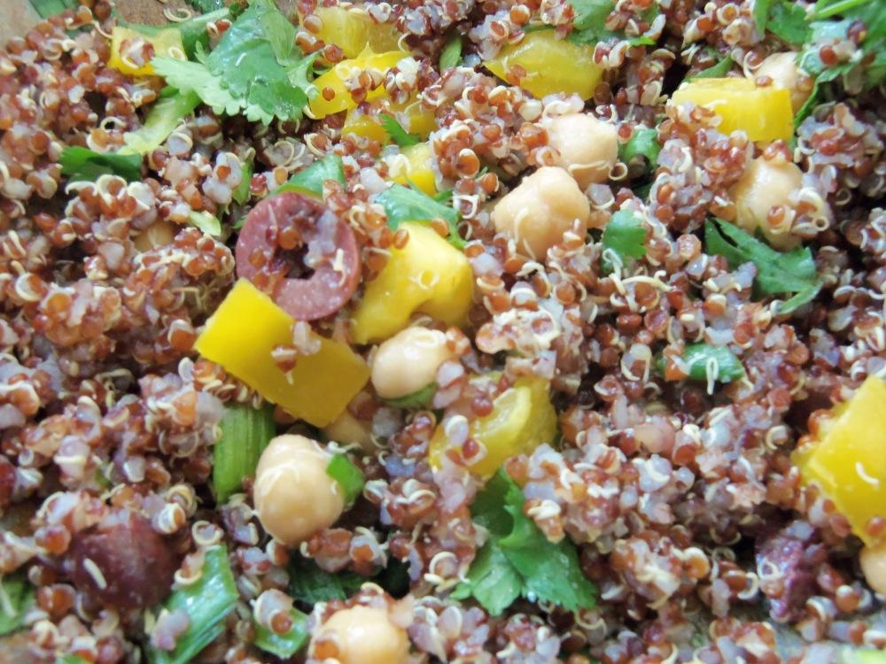 Delicious and easy quinoa salad