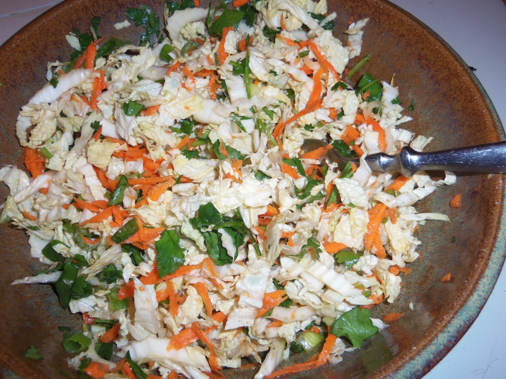 Zesty Slaw--delicious!