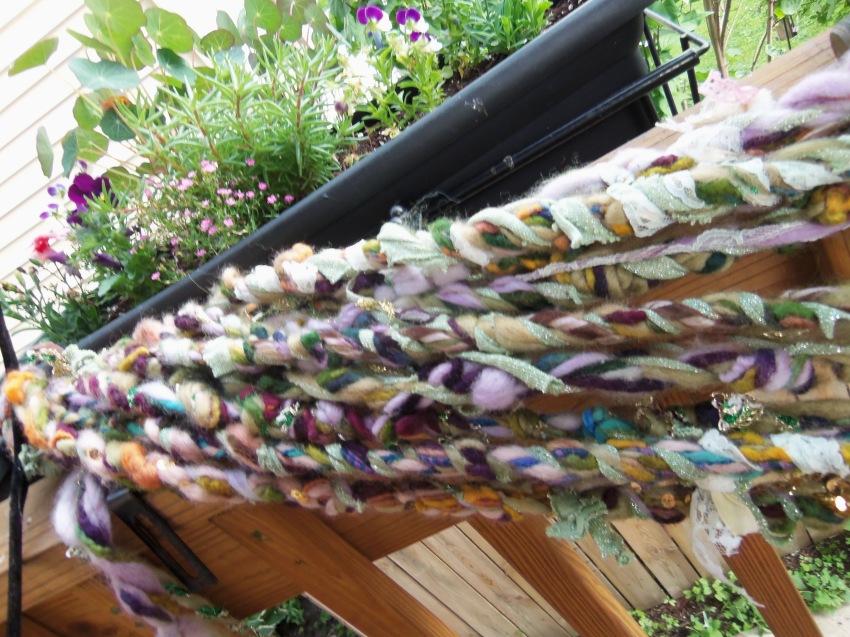 Goddess garden yarn
