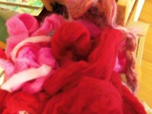 wool before carding