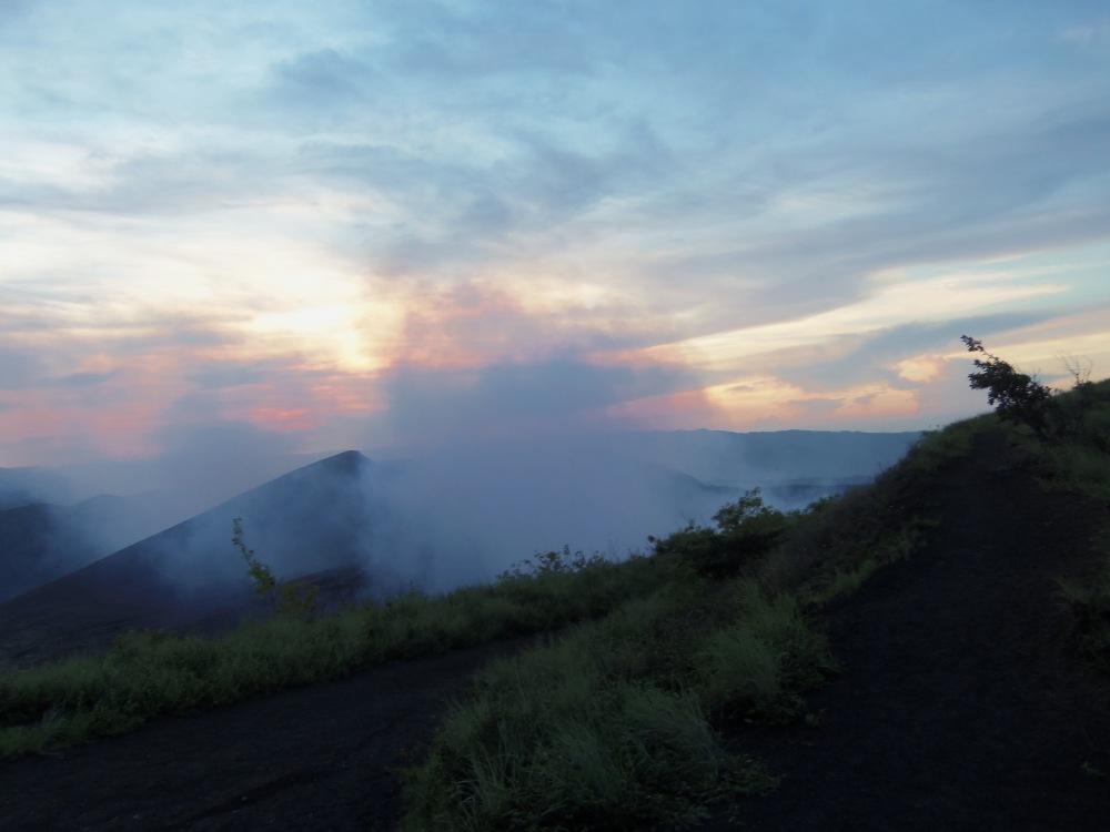 Volcan Masaya at dusk