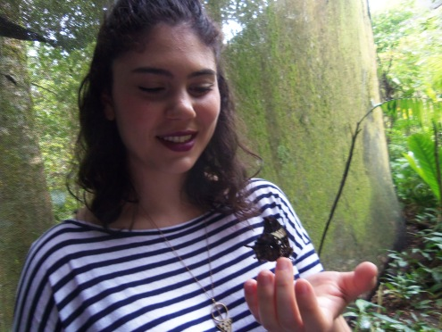 Rachel and the butterfly