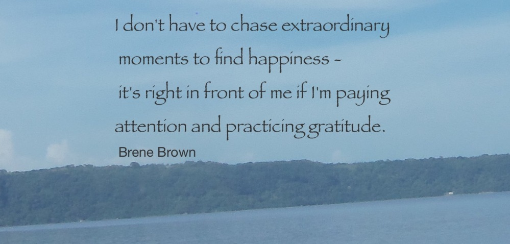 Gratitude--Brene Brown