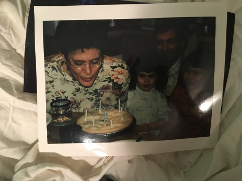 My birthday--a long time ago