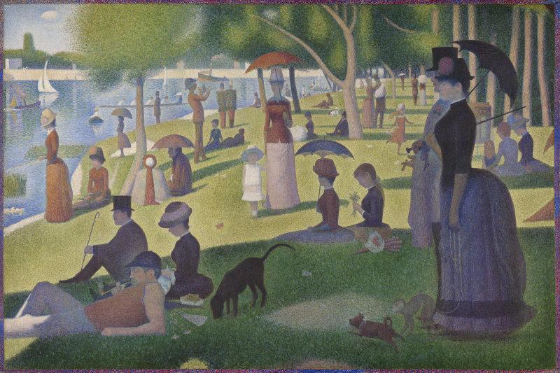 A Sunday on La Grande Jatte - 1884